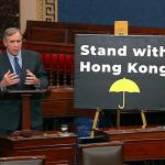 「我們必須問自己:香港是不是下一個天安門?」美國參議院無異議通過《香港人權與民主法案》