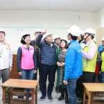民安國小校舍改建明年完工 友善通學步道保障學童安全