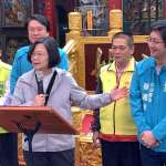 稱蔡適應是民進黨軍系立委 蔡英文唯一陪同登記:台灣頭很重要