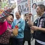 陪吳怡農掃街 游錫堃轟國民黨不分區「親中又挺送中」
