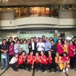 輔英USR計畫成果展志工表揚 二十週年印尼學生扮孕媽咪闖關