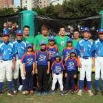 棒球》台中市民廣場很「棒球」 三大旅美投手協同防護員指導小球員
