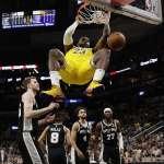 NBA》率湖人繳自2010-11賽季以來開季最佳表現 詹姆斯歸功「休賽季」