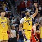 NBA》戴維斯對決老東家砍41分寫紀錄 湖人逆轉鵜鶘奪9連勝