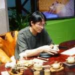 客家文化園區手捏陶藝個展 品獨特茶香