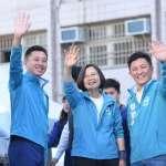 高民調市長林智堅加溫 新竹縣市立委民進黨拚「過半」