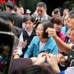 蔡英文首度合體候選人掃街意外惹民怨  市場民眾怒嗆:買30年了都沒交管!