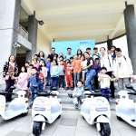 趙天麟努力改善空污 電動機車兒童駕訓班在高雄展開