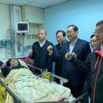 藍委急診合照開直播 台大醫院工會:請所有政治人物停止利用醫療資源造勢!