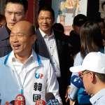 蔡總統批張善政學韓國瑜「信口開河」,韓反問:該擔心賴清德會不會被蔡英文帶壞?