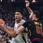 NBA》字母哥率公鹿擊潰騎士 寫下18連勝更登上聯盟龍頭
