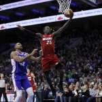 NBA》努恩不嫩!個人單場26分 熱火終結76人主場14連勝