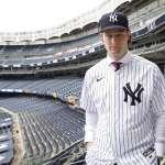MLB》破紀錄合約披上條紋衫 柯爾:這是我的夢想