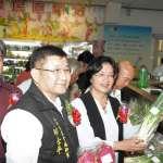 販售在地當季蔬果 彰化第一站「二林農民直銷站」開幕啟用