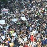 罷韓挺韓遊行》高雄捷運21日運量躍史上第二高!僅次於2012五月天跨年晚會