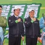 史上首場「雙副」競選活動!賴清德、陳建仁車隊掃街強攻雙北