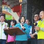 台中北北屯立委選舉漸趨激烈 蔡英文再到莊競程總部造勢