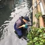 中市環保局專案小組科技辦案 梧棲大排汙染案數大幅減少