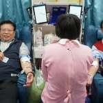 中油煉製事業部舉辦公益捐血 同仁挽袖獻愛心