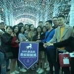 越竹航空河內首航踩線團首選 狂讚新北歡樂耶誕城太美