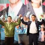 為吳怡農造勢 卓榮泰哽咽催票:他若不能當選,我會非常自責