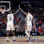 NBA》生涯新高7顆三分球率鵜鶘4連勝 鮑爾:這不會在一夜中發生
