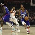 NBA》快艇三星聯手飆分寫紀錄 教頭瑞佛斯仍對防守表現不滿