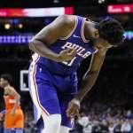 NBA》安比德左手指嚴重扭曲仍續戰 週五強碰綠衫軍恐將缺席