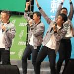 綠營造勢晚會新亮點!青年議員助選團賣力唱跳