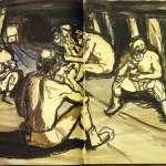順天美術館穿針引線 礦工畫家洪瑞麟2500件作品、文物捐贈回台
