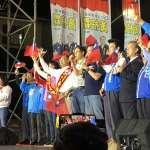 高雄市立法委員候選人黃柏霖舉行「全國客家後援總會團結大會」五千人到場力挺
