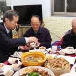 臺中榮總結合飯店主廚作百份年菜送愛 讓獨居單身榮民溫馨過年