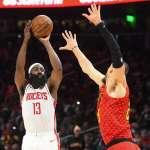NBA》哈登近兩年6度單場投丟16顆三分 MVP頭銜也不被「歷史」看好