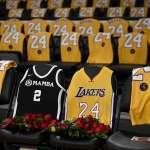 NBA》主場賽事弔念布萊恩 全場以8號及24號衣服點綴