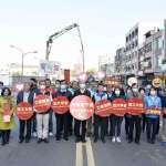 中華地下道填平 韓國瑜:預計3月上旬開放主線通行