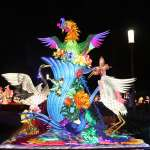 台灣燈會花燈競賽燈區近600件作品 風格多元爭奇鬥艷