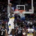 NBA》威廉森紀錄夜轟生涯新高31分 生涯前9戰7戰20+史上第一人