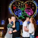 情人節浪漫景點 台灣燈會愛的流星雨