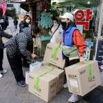 酒精要上鎖才敢擺出來,中國商人、留學生爆買口罩到「一罩難求」…韓國版「口罩之亂」