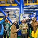 貝里斯駐聯合國常任大使 參訪八里垃圾焚化廠