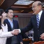 拜會民進黨團 蘇貞昌恭喜立委當選、盼支持防疫條例