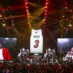NBA》球衣被熱火榮退仍不忘致敬布萊恩 韋德:我有責任指引下一代的方向