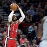 NBA》安東尼轟32分率拓荒者擊敗活塞 自尼克最終賽季後再有30+演出