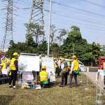 市府工業管線業者無預警應變演練 提升轄內工業管線維運安全