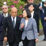 陳淞山觀點:「小總統」蔡英文碰上政治失控的蘇貞昌