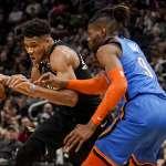 NBA》遭哈登回嗆打球沒技巧 字母哥淡定:他要這樣想,就這樣吧!
