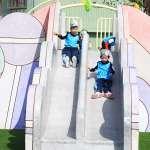 潭雅神海線共融公園改善完工 「棒棒糖溜滑梯」吸引小朋友目光