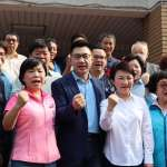國民黨主席補選》盧秀燕陪同投票 江啟臣:若當選短期內啟動有感改革