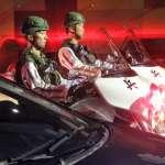 「雲豹」撞凹小黃、憲兵重機不再白色限定?裝甲部隊深夜市區大進擊