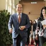 期待江啟臣帶領國民黨重獲信任 王金平建議提出全民有共識的兩岸論述